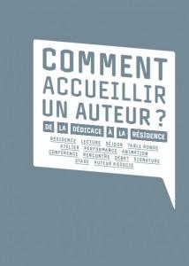 Commentaccueillirunauteur2012_couv